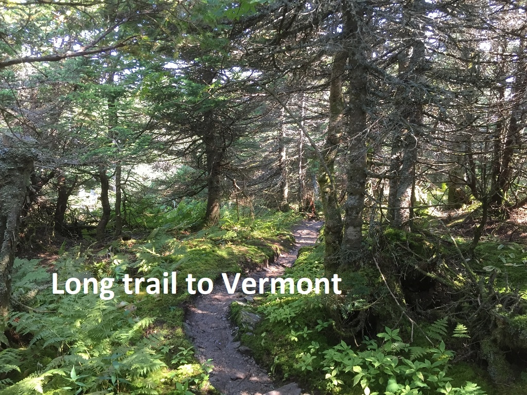 The Long trail to Vermont