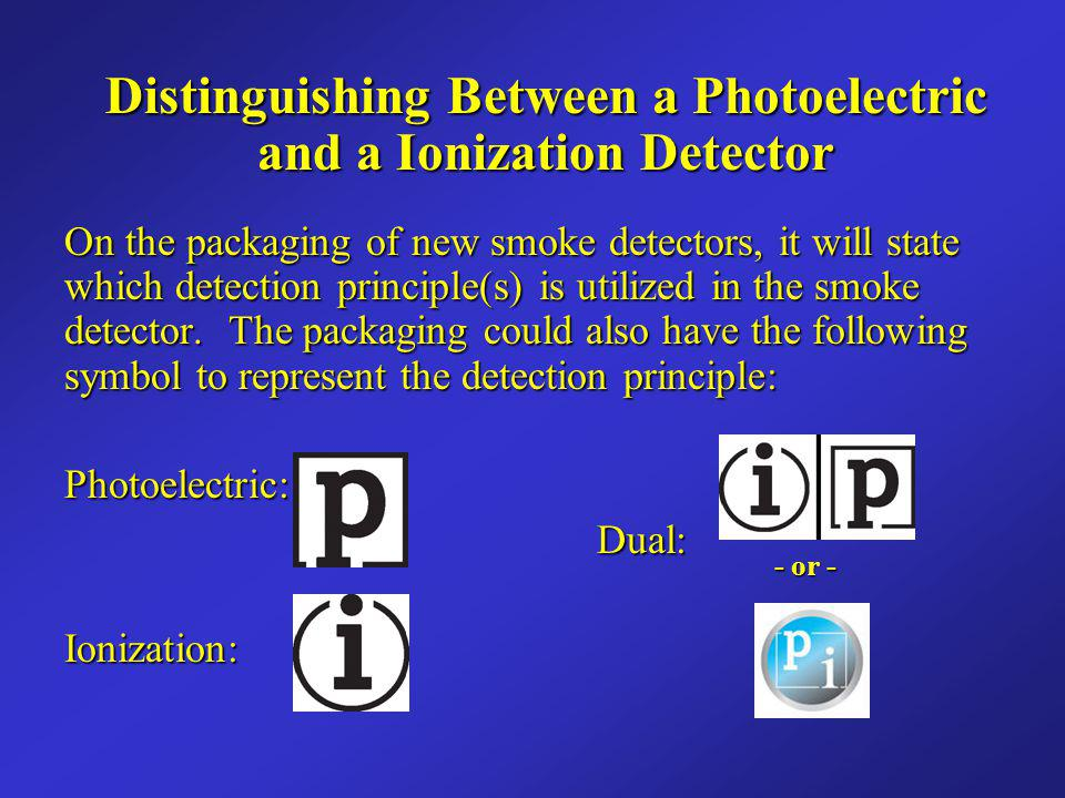 Smoke Detector Symbols