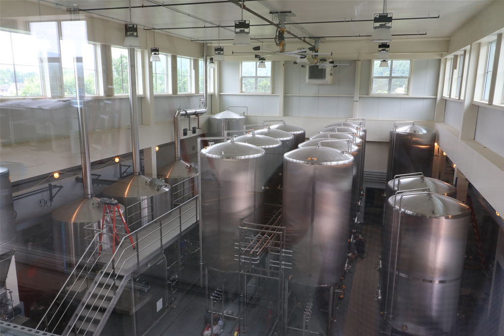 Brewhouse from balcony
